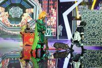 Trịnh Tuấn Vỹ mang khỉ và heo lên sân khấu diễn hài