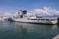 Tàu phòng vệ hải quân Nhật Bản thăm Đà Nẵng