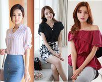Những mẫu áo sơ mi cách điệu phong cách Hàn 'đẹp mê hồn' bạn nên sắm ngay trong tủ đồ năm nay
