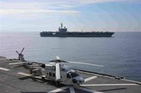 Tàu sân bay Mỹ vào Biển Đông, diễn tập cùng tàu chiến Nhật