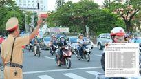 CSGT Đà Nẵng thông báo phương tiện vi phạm qua Facebook
