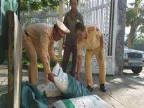 Tạm giữ gần 1 tấn bột ngọt không rõ nguồn gốc xuất xứ