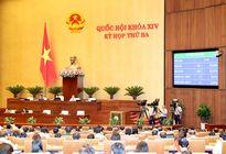 Kỳ họp thứ 3, Quốc hội khóa XIV: Thông qua ba dự án Luật