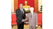 Tăng cường hơn nữa mối quan hệ hữu nghị hợp tác Việt Nam - Haiti