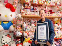Xôn xao bộ sưu tập hơn 10.000 Hello Kitty của cụ ông Nhật