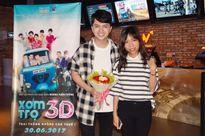 Nam Cường được khán giả chào đón nồng nhiệt trong cinetour 'Xóm trọ 3D'