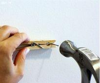 Cách đóng đinh trên tường để không xuất hiện vết nứt