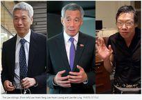 Hai em thủ tướng Singapore giảm nhẹ tranh cãi