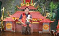 Nghệ sĩ Phan Thanh Liêm giới thiệu múa rối nước cổ truyền tại Hàn Quốc