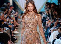 Bộ đầm Couture đính thủ công 20.000 chi tiết của Elie Saab