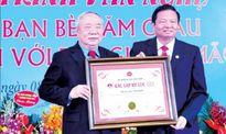 Ông Vũ Mão được công nhận là kỷ lục gia