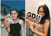Huyền My, Hương Giang Idol mặc gợi cảm đi xem concert của G-Dragon
