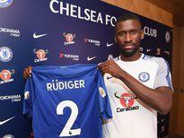 Rüdiger chính thức gia nhập nhà vô địch Premier League Chelsea