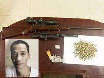 Em trai Hải 'Bánh' bị bắt cùng lô súng đạn