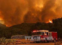 Mỹ: Nắng nóng kỷ lục, cháy rừng hoành hành bang California