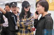 Dương Mịch bị nhân viên an ninh yêu cầu rời khỏi sân bay