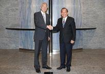 Phó Thủ tướng Thường trực Trương Hòa Bình thăm chính thức Singapore