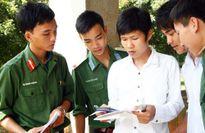 Khối các trường quân sự công bố mức điểm nhận hồ sơ xét tuyển