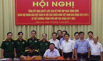 Tăng cường phối hợp giữa lực lượng vũ trang và cựu chiến binh
