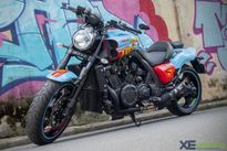 Yamaha V-Max 1700cc độ Super Man độc nhất vô nhị tại Việt Nam
