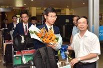 Đội tuyển Olympic Hóa học trở về nước với thành tích cao nhất