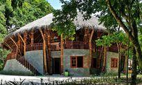 Nhà hình trụ mái tranh siêu lạ mắt ở Quảng Bình