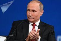 Khi Tổng thống Nga Vladimir Putin trổ tài ngoại ngữ