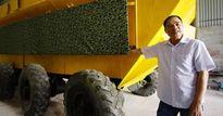 Bán xe bọc thép 2 tỷ giá đồng nát, 'thợ vườn' làm máy phát điện triệu USD