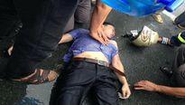Bị sét đánh khi đang đi xe máy, nam thanh niên thoát chết hy hữu