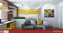 Thiết kế nội thất 'chất lừ' của ngôi nhà ống 65m2 cho các gia đình trẻ