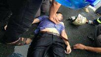 Nam thanh niên bị sét đánh bất tỉnh khi đang đi xe máy