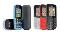 2 điện thoại phổ thông Nokia 105 và 130 ra mắt giá từ 15USD