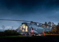 Soi nội thất tuyệt mỹ một khách sạn làm từ máy bay trực thăng hoàng gia