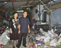 Vợ chồng cựu chiến binh nhường cơm sẻ áo cho đồng đội