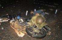 Áo mưa quấn vào xích xe siết cổ một người đàn ông đến chết
