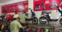 Lực lượng quản lý thị trường tịch thu hàng loạt xe đạp điện giả, nhái HKbike