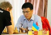 Lê Quang Liêm về nhì sau khi bất phân thắng bại với kỳ thủ Trung Quốc
