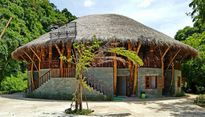 Ngôi nhà bằng tre có thể chống chịu bão lũ ở Việt Nam