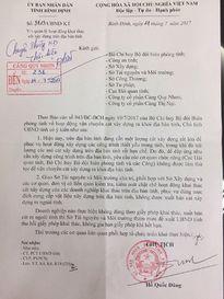 Chủ tịch UBND tỉnh Bình Định ban hành 'lệnh cấm' bán cát ra ngoài tỉnh