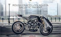 Siêu môtô độ MV Agusta Ballistic Trident độc nhất Thế giới