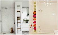 Bạn cần lên ngay những ý tưởng này để lưu trữ đồ cho một phòng tắm hoàn hảo