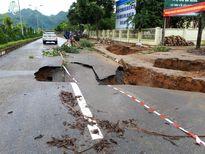 Xử lý sụt trượt, đảm bảo ATGT các tuyến QL trên địa bàn Lai Châu