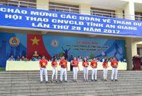 LĐLĐ tỉnh An Giang: Khai mạc hội thao công nhân viên chức, lao động