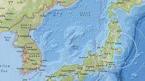 Động đất mạnh 5,8 độ richter ngoài khơi Nhật Bản