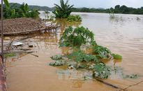 Lũ đang lên nhanh ở thượng lưu sông Đà, sông Thao, sông Lô