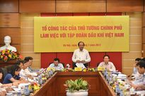 Thủ tướng động viên PVN phải vững tâm, đoàn kết