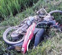 Tai nạn trên đường làng, 2 nạn nhân tử vong tại chỗ