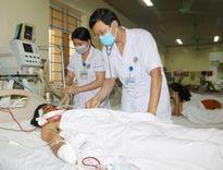 Cứu sống nam bệnh nhân sốc đa chấn thương do nổ mìn