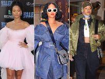 Sốc với gu thời trang 'dị' của ca sĩ Rihanna