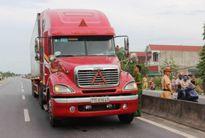 Xe container hất văng CSGT xuống đường: Khởi tố tài xế sang tội giết người